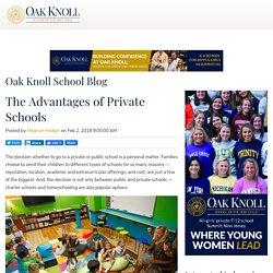 Advantages Of Private School - Oakknoll