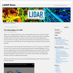 The Advantages of a UAV - LiDAR News