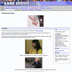 The Adventure Game - UKGameshows