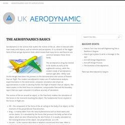The Aerodynamics Basics