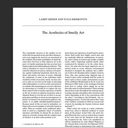 The Aesthetics of Smelly Art.pdf