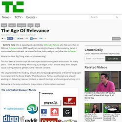 The Age Of Relevance