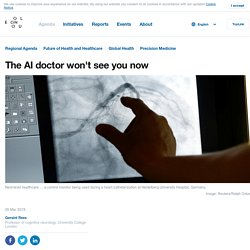 The AI doctor won't see you now