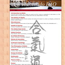 The Aikido FAQ