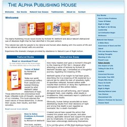 Welcome To Alpha Publishing House