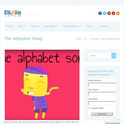 The Alphabet Song - ESL Kids Games