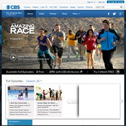 The Amazing Race: Watch Episodes and Video and Join the Ultimate