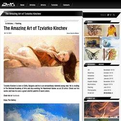 The Amazing Art of Tzviatko Kinchev - Draw As A Maniac