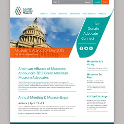 AAM: Welcome to the American Association of Museums