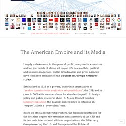 The American Empire and its Media – The American Empire and its Media