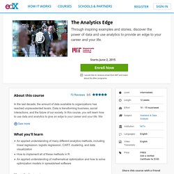 The Analytics Edge