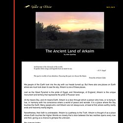 The Ancient Land of Arkaim
