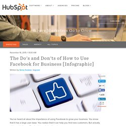 The Do's and Don'ts of How to Use Facebook for Business