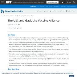 The U.S. and Gavi, the Vaccine Alliance