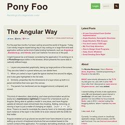 The Angular Way