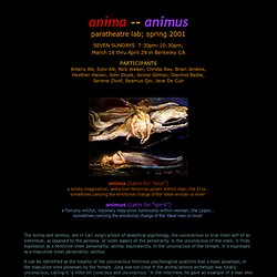 The Anima/Animus Lab