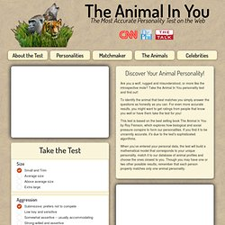 The Animal in You Personality Test