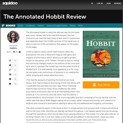 The Annotated Hobbit Review