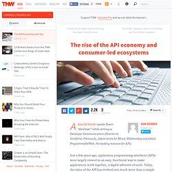 The API Economy and You