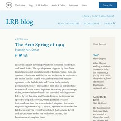 The Arab Spring of 1919