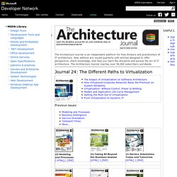 The Architecture Journal