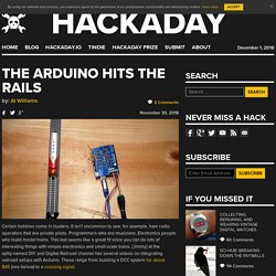 The Arduino Hits The Rails