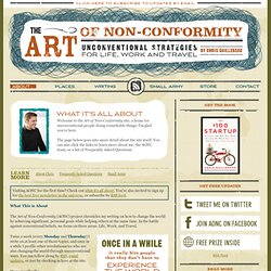 About the Art of Non-Conformity Site