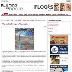 The Art & Design of Concrete