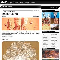 The Art of Gina Kiel - Draw As A Maniac