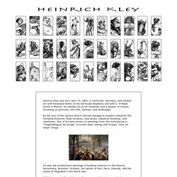 The Art of Heinrich Kley