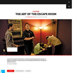 The Art of the Escape Room
