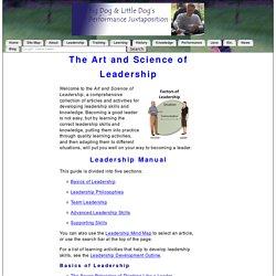 Leadership Manual: The Art & Science of Leadership