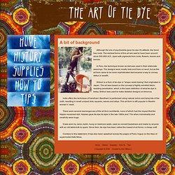The Art of Tie Dye