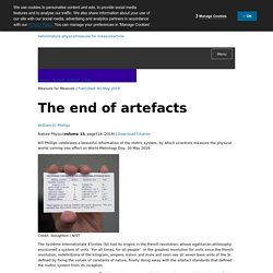 The end of artefacts