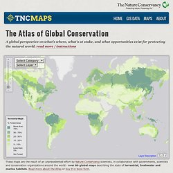 Global Conservation Maps