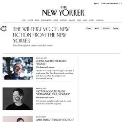 The Author's Voice Archives