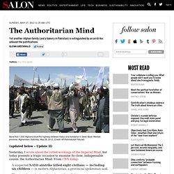 The Authoritarian Mind - Glenn Greenwald