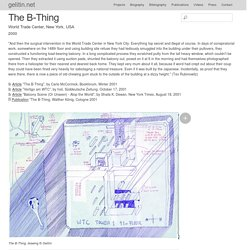 The B-Thing ( Projects )
