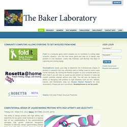 The Baker Laboratory