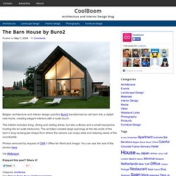 The Barn House by Buro2