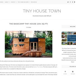 The Basecamp Tiny House (204 Sq Ft) - TINY HOUSE TOWN