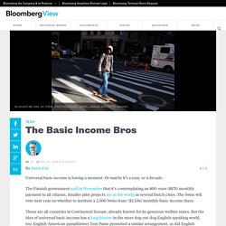 The Basic Income Bros