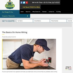 The Basics on Home Wiring