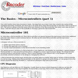 The Basics - Microcontrollers