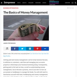 The Basics of Money Management