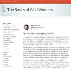 The Basics of Web Workers