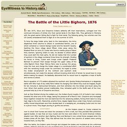 The Battle of the Little Bighorn, 1876