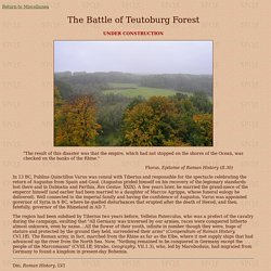 The Battle of Teutoburg Forest