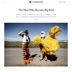 The Man Who Became Big Bird