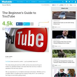 The Beginner's Guide to YouTube